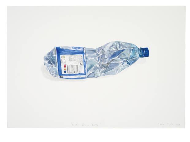 Watercolour Bottle (10), 2019, watercolours from £2,000