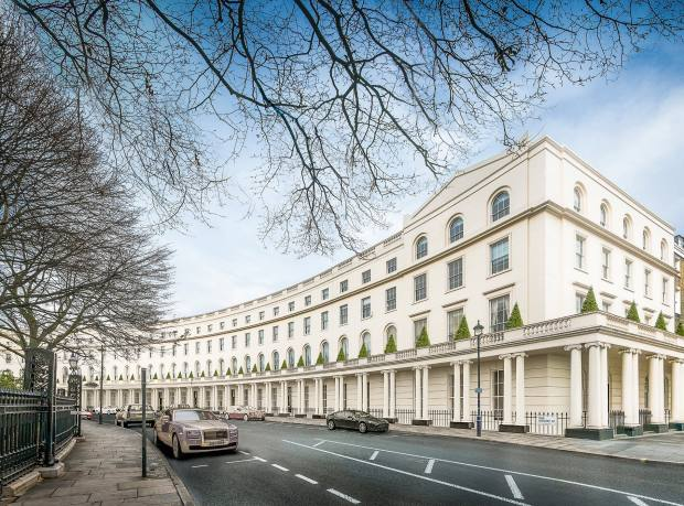The Park Crescent, near Regent's Park, flats from £3.95m through Knight Frank and Aston Chase