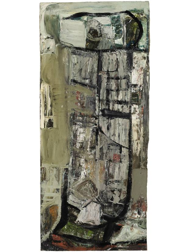 Anticoli Snow, 1953, by Peter Lanyon, estimate £100,000-£150,000
