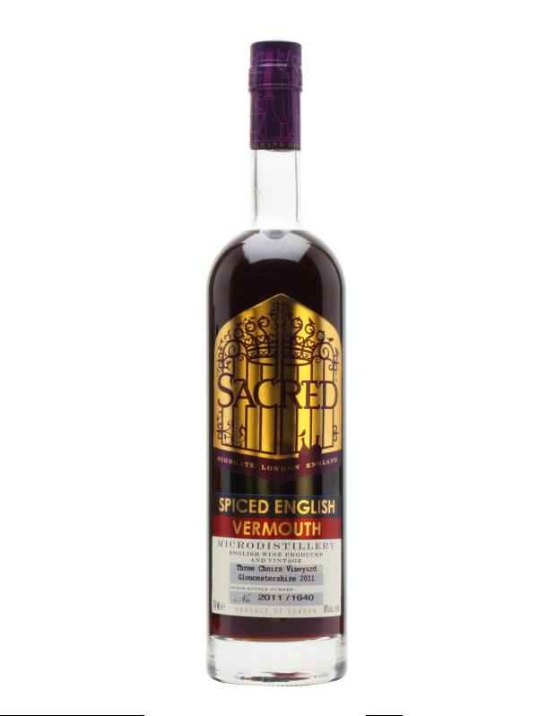 Sacred Spiced English Vermouth, £30 for 75cl, from The Whisky Exchange
