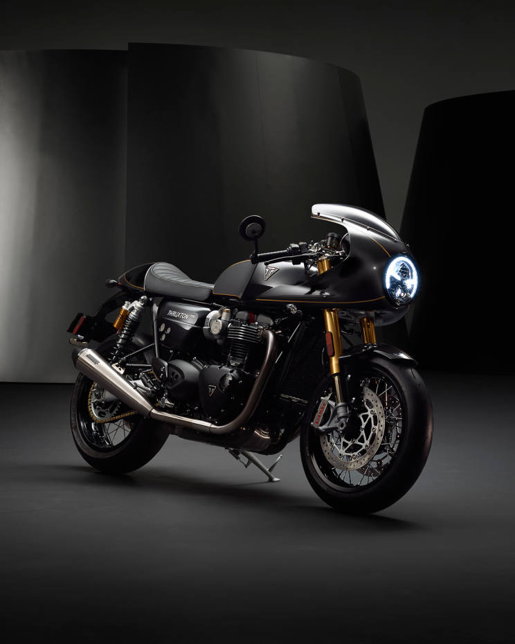 Triumph is releasing just 750 individually numbered Thruxton TFC motorcycles, priced from £17,500 each
