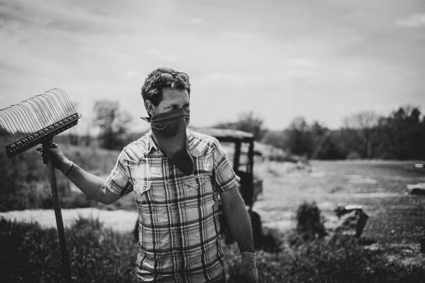 "Jack Algiere of Stone Barns Farm wrote a ""recipe"" for a kitchen garden"