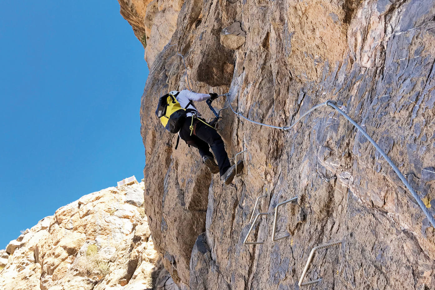 Canyon running and via ferrata in Oman | How To Spend It