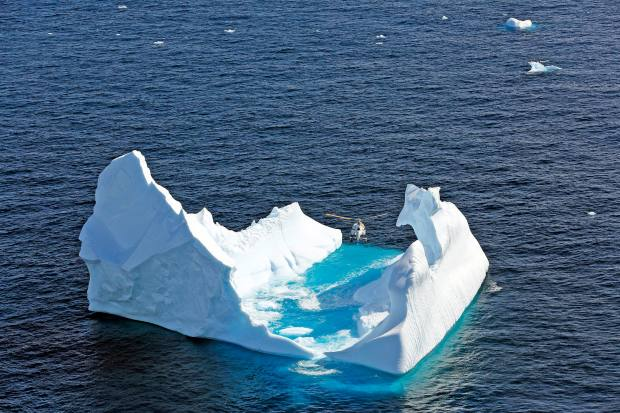 Cookson Adventures' Antarctica family bonding trip involved iceberg climbing
