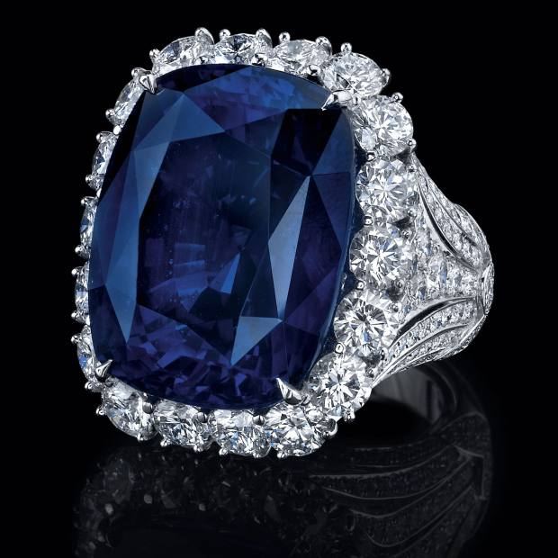 Robert Procop sapphire and diamond ring, price on request