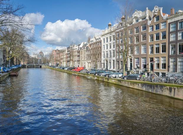 Keizersgracht, one of Amsterdam's three great canals