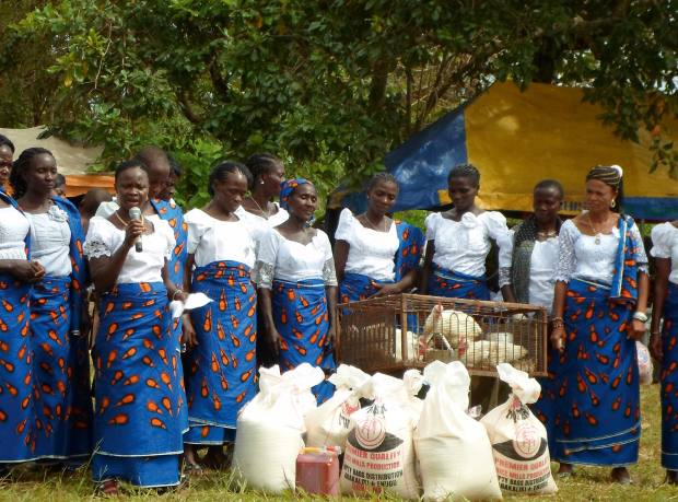 Beneficiaries of Women for Women International, Nigeria, an initiative supported by De Beers