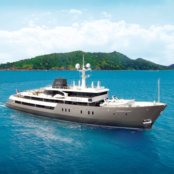 Aqua Expeditions' Aqua Blu has its sights set firmly on the ancient spice-trade routes of Indonesia