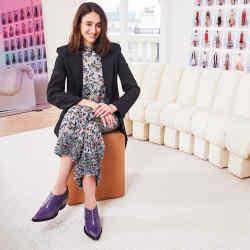 Natacha Ramsay-Levi, Chloé's new creative director, in her Paris office