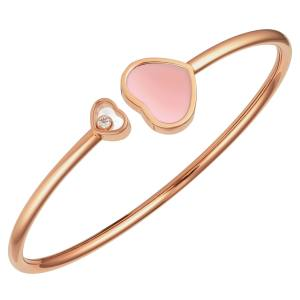 Chopard rose-gold and diamond Happy Hearts cuff, £2,230; £740 from each sale goes to GOSH