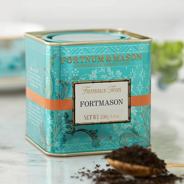Fortmason tea – a morning favourite of Gieves & Hawkescreative director John Harrison