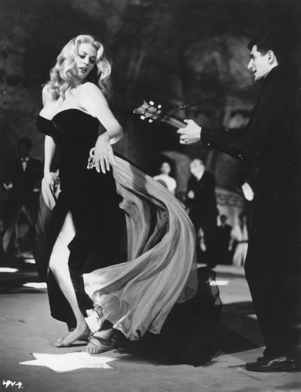 The La Dolce Vita screening/dinner event – which will take place on January 26 – marks the centenary of Fellini's birth