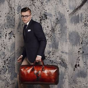 Malton & Kielman leather holdall, from €1,590