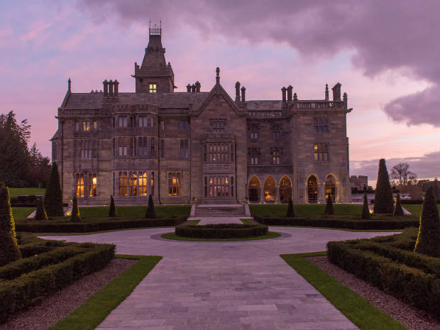 Adare Manor reopened its doors to guests last year following a 21-month renovation
