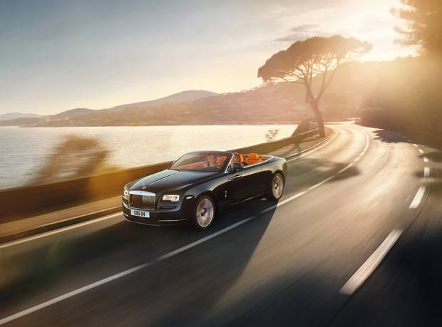 Road testing the Rolls‑Royce Dawn, from £250,000, in South Africa's Western Cape