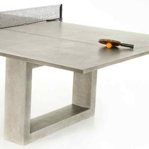 An outdoor ping-pong table from James de Wulf
