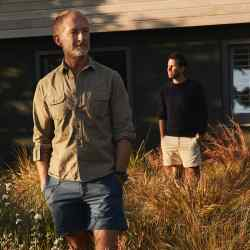 Adam Brown (left) and Tom Konig at their Cornwall home