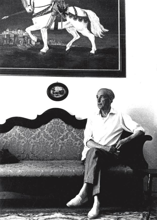 Mallorcan novelist Llorenç Villalonga, whose home in Binissalem is now a museum