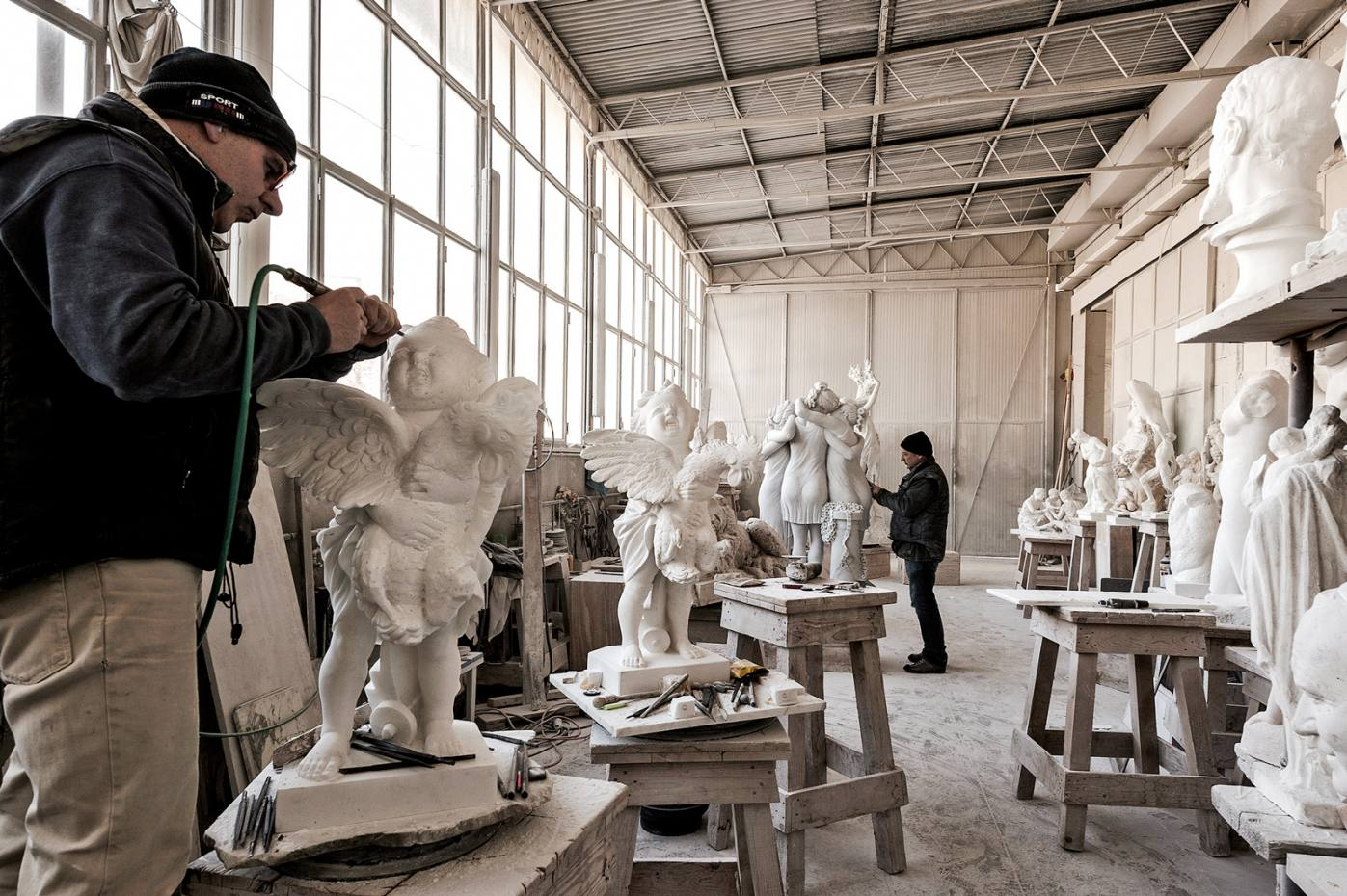 Tuscany Again's tailormade experiences include visits to the studios of top artisans