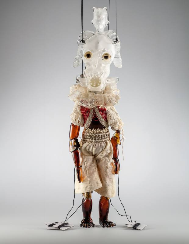 Wael Shawky for Studio Berengo marionette, from $65,000 each