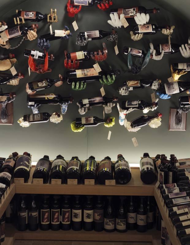 Hedonism Wines' quirky Sine Qua Non Vault