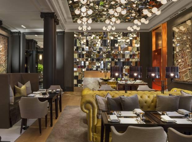 Rosewood London's elegant dining room
