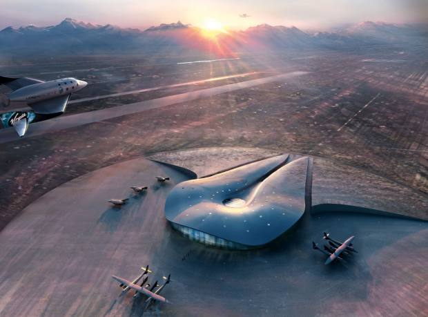 Virgin Galactic's Spaceport in New Mexico.