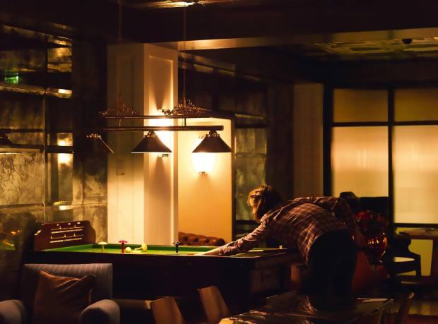 Mark's Bar in Soho, London.