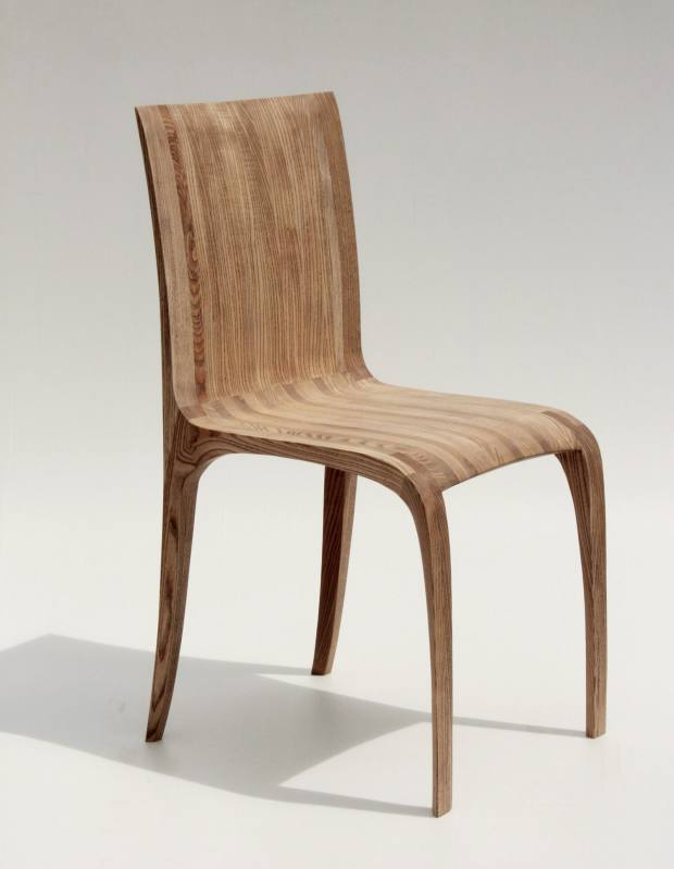 Jonathan Field ripple ash chair, £900