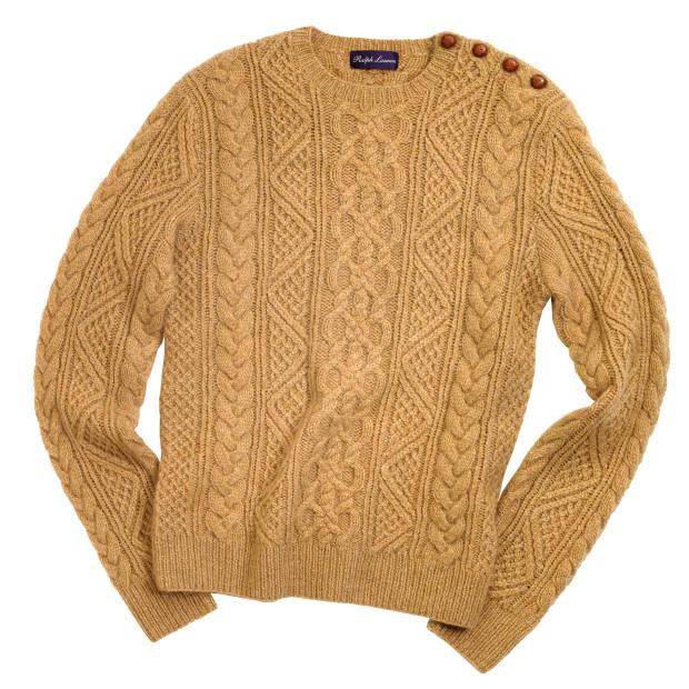 Ralph Lauren Purple Label cashmere/mohair jumper, £1,215