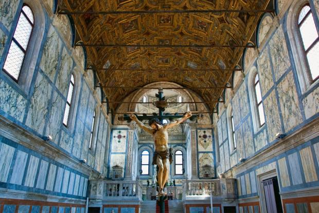 Peter Osborne finds the church of Santa Maria dei Miracoli inspiring