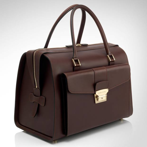 Dunhill Tradition holdall, £2,350.