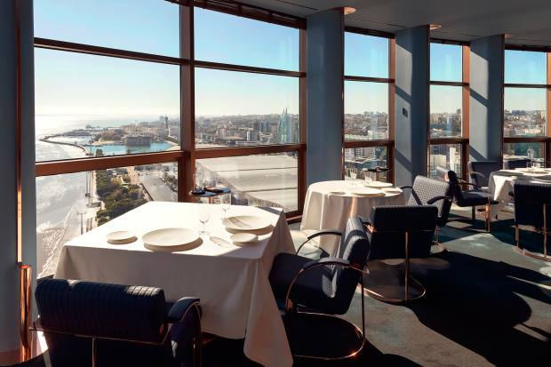 Fifty Seconds is located in the iconic Vasco da Gama Tower, with views across Lisbon