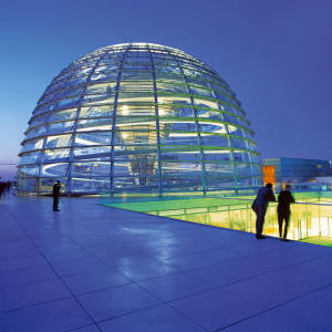 The roof of Berlin's Reichstag, which is a dinner location on one of Red Savannah's new cultural itineraries