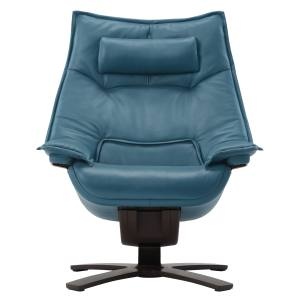 Natuzzi Re-vive chair (114cm x 90cm x 82cm) in leather, £2,950, including footrest