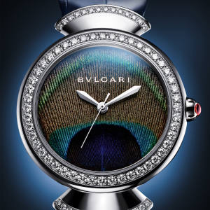 Bulgari white-gold and diamond Diva's Dream Peacock, €27,800