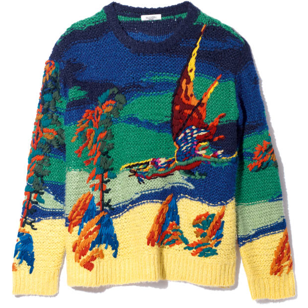 Valentino jumper, in collaboration with Roger Dean, £1,550