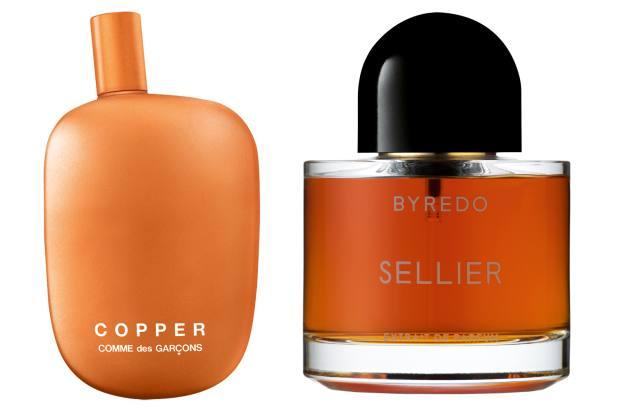 Comme des Garçons Copper, £115 (100ml), selfridges.com. Byredo Sellier, £230 (50ml)