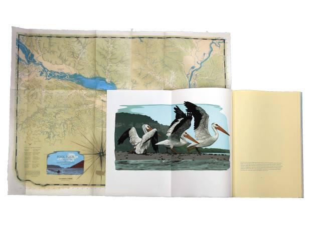Lac Des Pleurs by Gaylord Schanilec, $7,800, including a foldout map