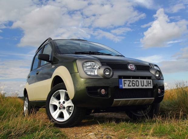 The 4x4 Nissan Juke, £20,345, is part sports car and part SUV.