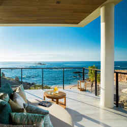 The view of the ocean from a villa at Chileno Bay Resort & Residences, in Mexico's Baja California