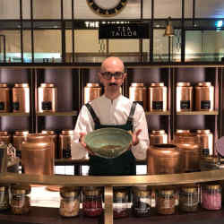 "Harrods ""tea tailor"" Angelo Tantillo creates blends to suit any palate"