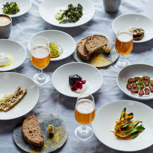 """Silo is founded on a """"zero-waste"""" philosophy, including plates made from recycled materials and nose-to-tail eating"""
