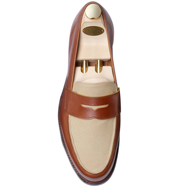 Crockett & Jones loafers, £425