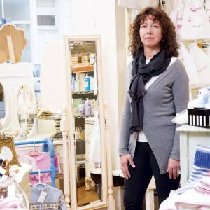 Sheila Brown in her Primrose Hill shop, PH Factor.