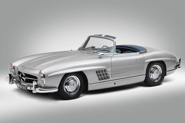 The magnificent 1957 Mercedes-Benz 300 SL Roadster, €950,000-€1.15m