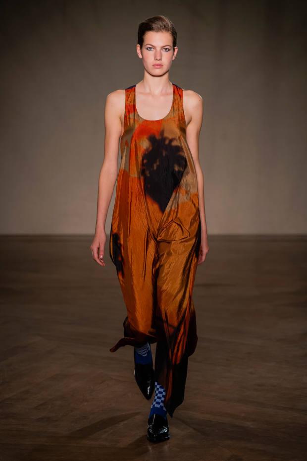 Paul Smith silk-mix dress, £630