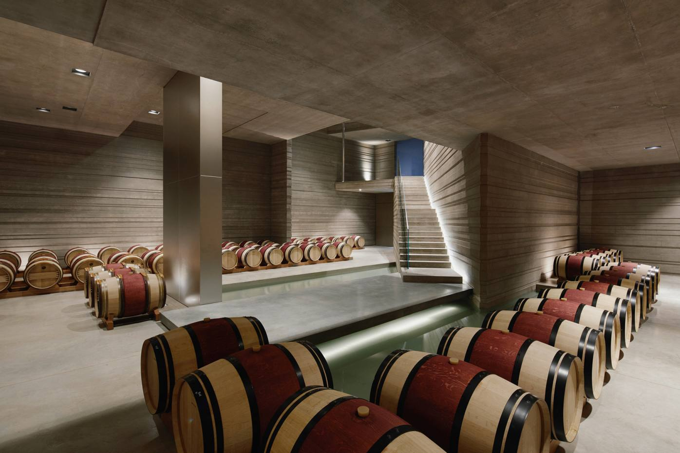 Masseto now vinifies and ages wines at its own premises, rather than neighbouring Ornellaia