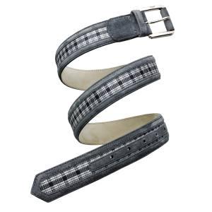 Brioni belt in calfskin and silk, £165
