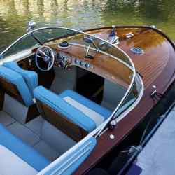 1963 Super Aquarama No 8, about £300,000, from Peter Freebody